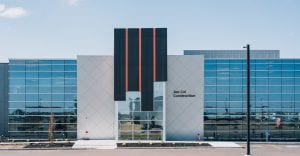 Metallic Aluminum Composite Panel Office Building