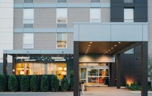 Aluminum Composite Panel hotel facade