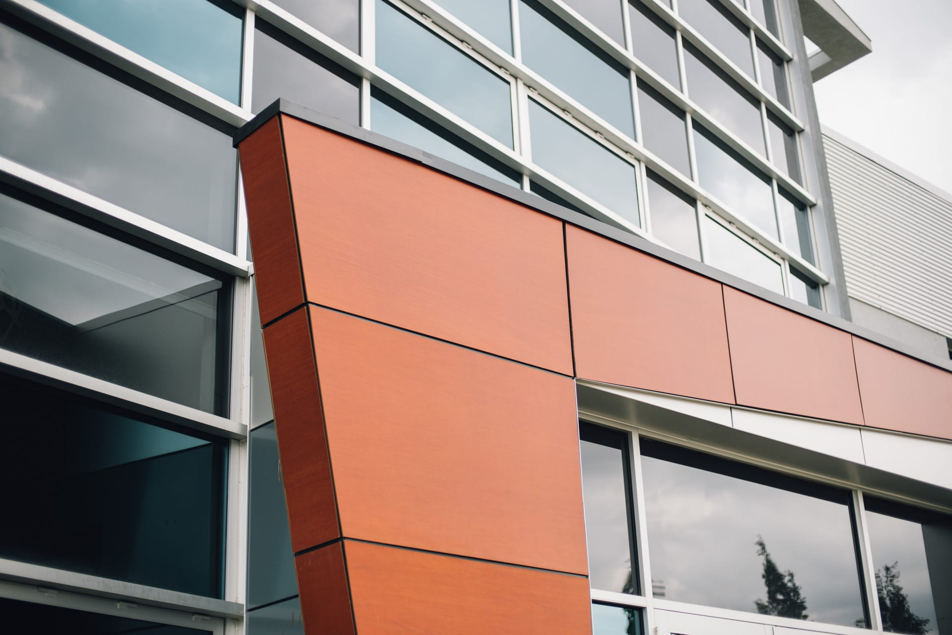 Exterior Composite Panels : Wood composite panels phenolic resin panel edmonton