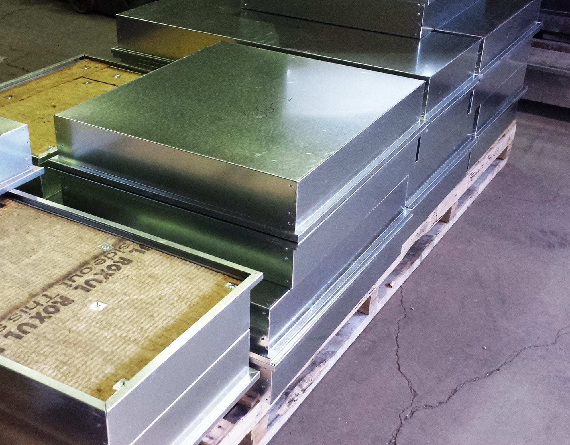 Curtain Wall Back Pans - IMARK Architectural Metals