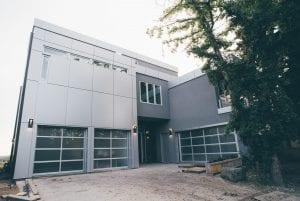 Aluminum Composite Panel modern residential home