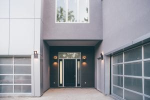 Modern homes with panel