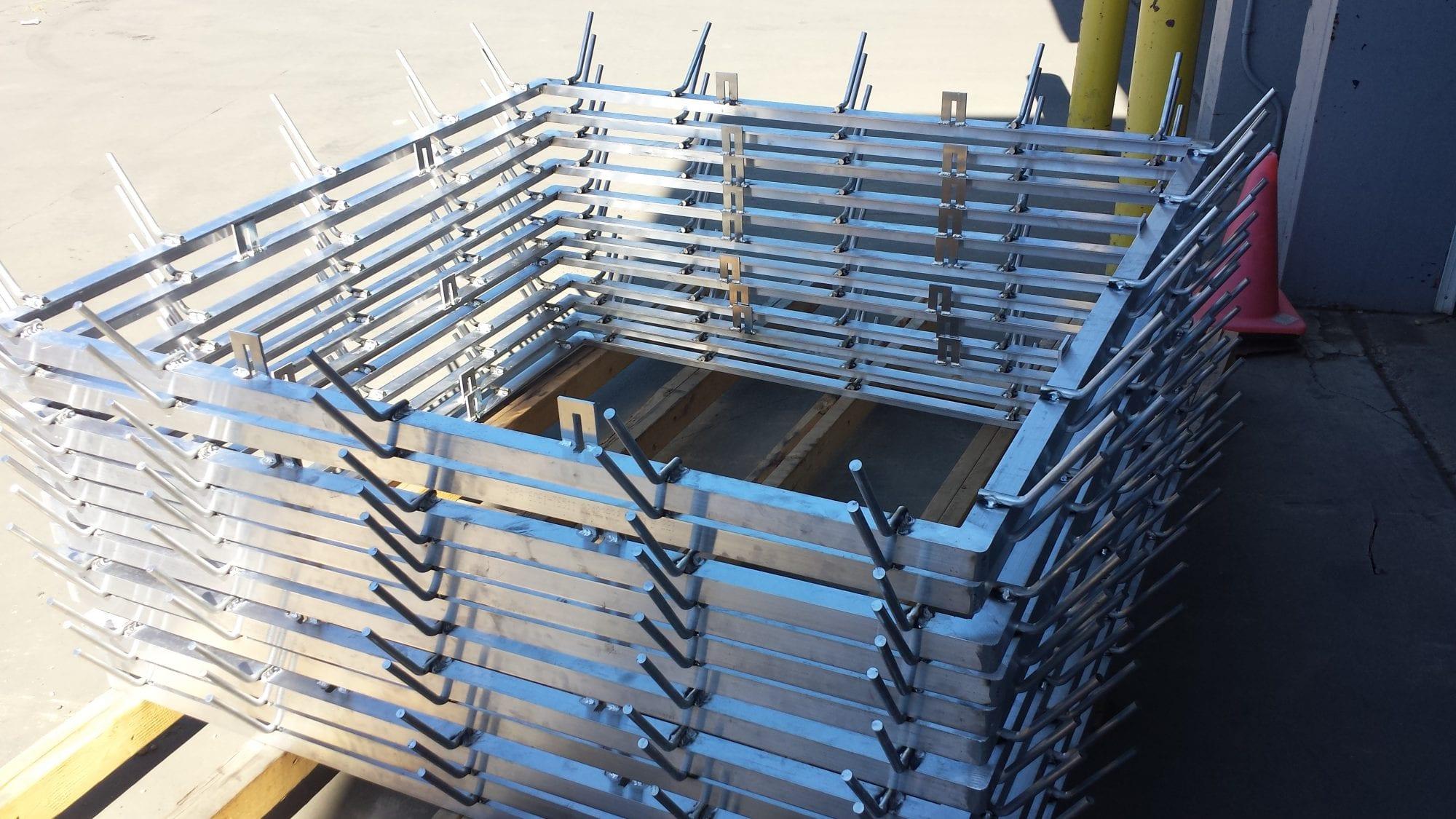 Aluminum Embed Frames for concrete