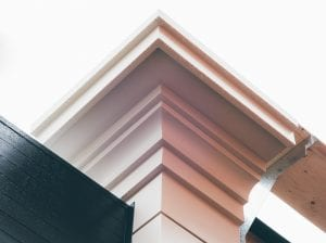 cornice application from metal
