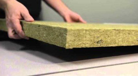 Roxul Cavityrock insulation.