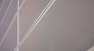 metal screen perforation