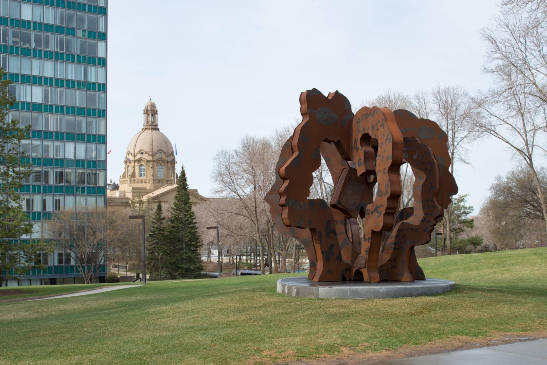 Public Art Metal Sculpture