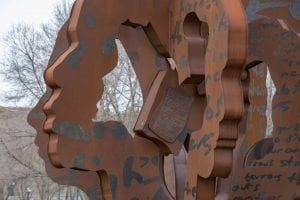 Public Art Metal Sculpture