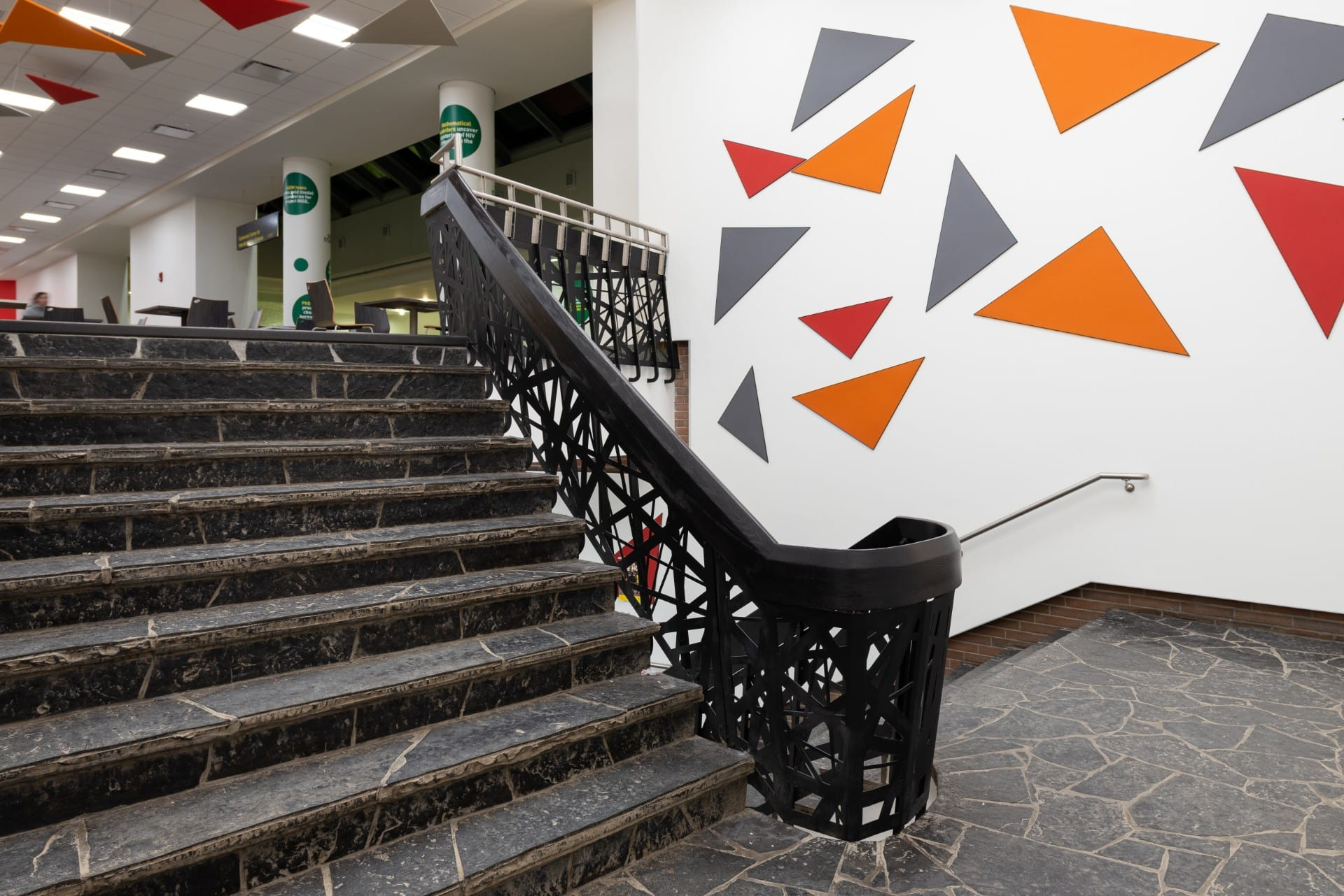 decorative laser cut metal handrail panel insert