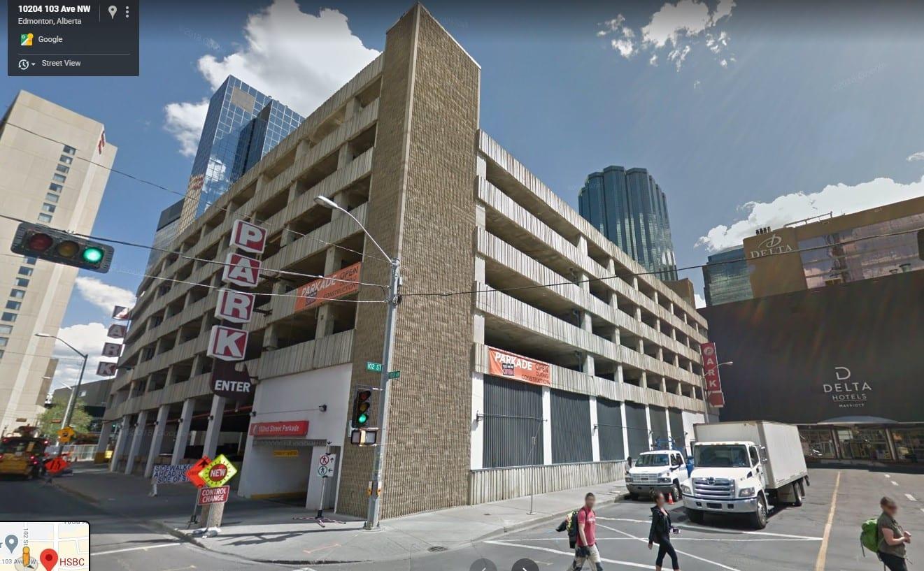 parking garage facade renovation